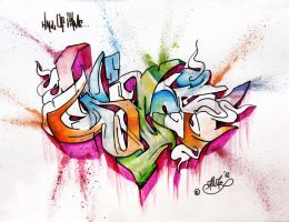 Wildstyle G by golgesoul