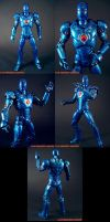 Movie Style Stealth Iron Man by KyleRobinsonCustoms