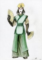 Avatar Kyoshi Colored by Bilgekhan