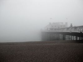 Brighton Pier Desaturate by Sigilien