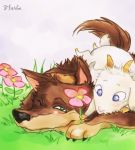 Gabu and Mei by Florbe