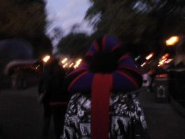 Frollo Hat Walking Through Fantasyland by ChristineFrollophile