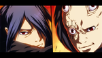 Sasuke vs The Unknown Uchiha by Eroishi