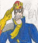 Captain Falcon O YEA by kingofthedededes73