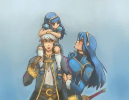 Lucina and Robin by Adam-Gilbert