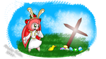 Happy Easter 2014 from Cherry!~ by AnimalCreation