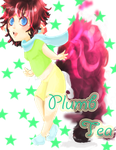 .:Art Request:. Plumb-Tea Child by SecretsOfAngels
