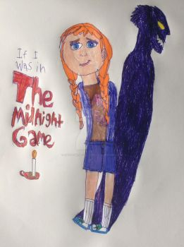 If I was in The Midnight Game: Anna as Me by CatWoman-cali-onyx
