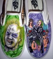 Beetlejuice kicks by Cerpin23