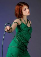 Emily With Electrical Cord 2 by JamesBrey