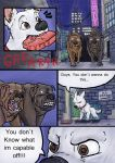 Bolt, Dog Fight deleted Scene. Pg 2 of 6. by wolfmarian