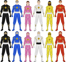 Mighty Morphin Power Rangers: The Movie, pt 2 by Taiko554
