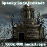 Spooky Backgrounds by patslash