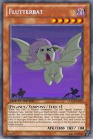 Flutterbat (MLP): Yu-Gi-Oh! Card by PopPixieRex
