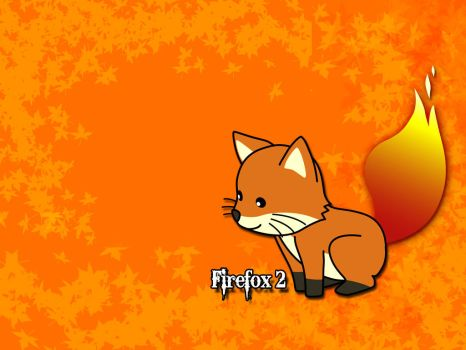 Another Firefox Wallpaper by Razpootin