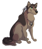 Wolf - Adopted! by kohu-arts
