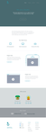 Minisite PSD Freebie + Icons by BooksWithDarjeeling