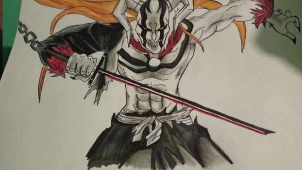 bleach ichigo vasto lord by Tirolocox