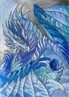 ACEO Dragon 44 by rachaelm5