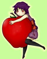 Floating apples are cool. by Frankemix