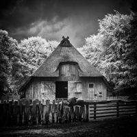 Old German Sheep Shelter by MichiLauke