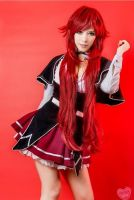 Rias Gremory Cosplay highschool dxd by KoKoa Yuki by himariyuki54