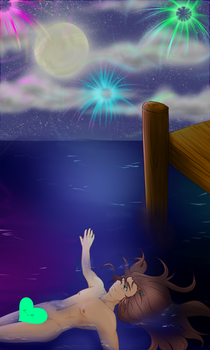 Moonlit Swimming by running-wolf-1523
