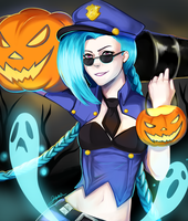 Trick or Treat!! by IceValaxy