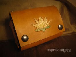Open-sided Lotus Bag by Merice