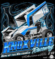 Knoxville Raceway '12 by bwassonart