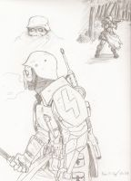 Toten Kopf concept sketches by warman707