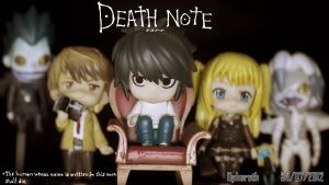 Death Note Nendoroids 2 by Opheroth