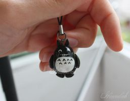 fimo totoro by Himmlich