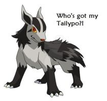Pokemon Folklore - Tailypo by HiddenLeafDragon