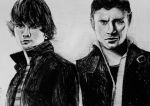 Sam and Dean by ahsr