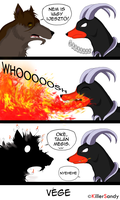 You're not scary! by KillerSandy