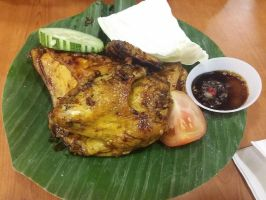 Indonesian-Style Grilled Chicken by nosugarjustanger