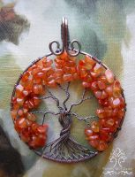 Little Piece of Autumn *SOLD* by RachaelsWireGarden