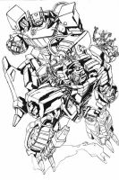 Shockwave,Stockade--ink by marble-v