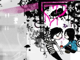 emo wallpaper by boogs024