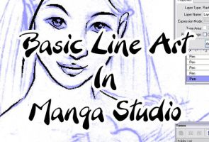Basic Line Art in Manga Studio by kitttykat