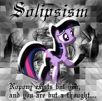 Solipsism - fanfic cover by WarriorSparrow