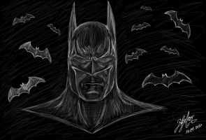 The Dark Knight by Bilgekhan
