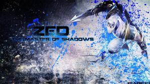 LoL - ShockBlade Zed Wallpaper ~xRazerxD by xRazerxD