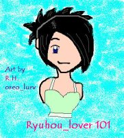 Ryhou_lover101 Art in Paint by maeshughes1022