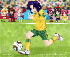 Athrun - S is for South Africa by Prince-in-Disguise