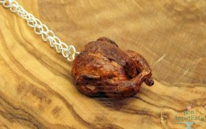 Roast Chicken Necklace by Bon-AppetEats