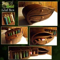 FayeDust Leaf Box by DimensionalImages