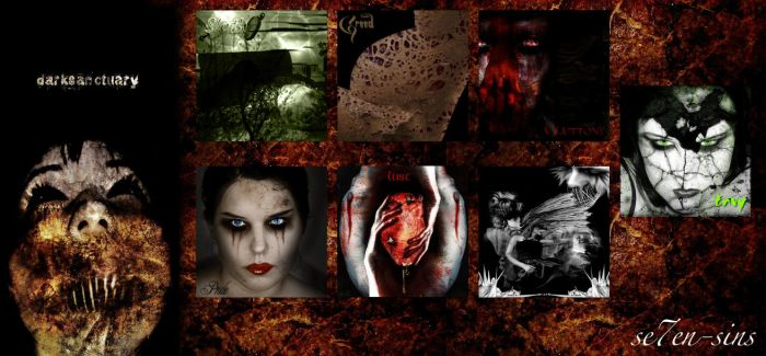 7 Sins -Group 4- by darksanctuary