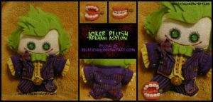 Arkham Asylum: Joker Plush by StitchedAlchemy